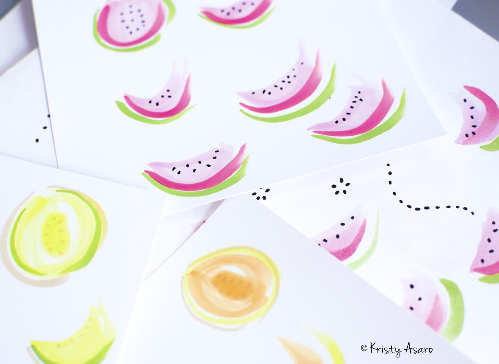 watermelon pattern | Kristy Asaro