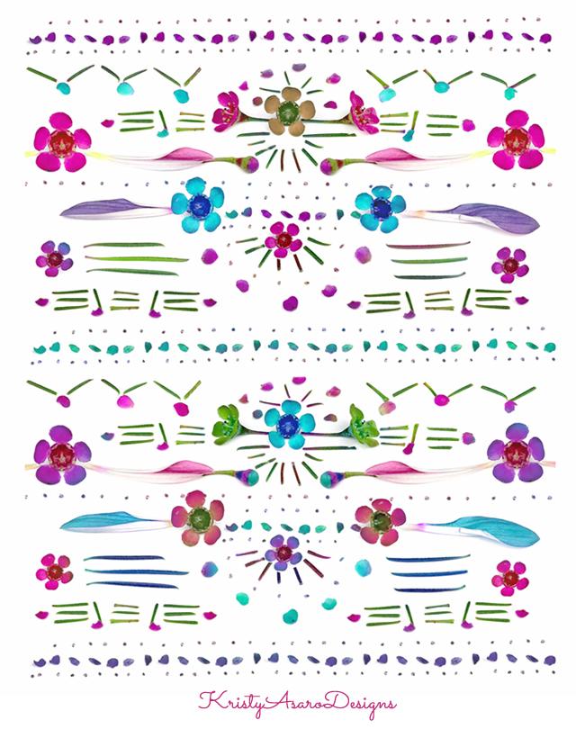 Kristy Asaro | Floral Patterns